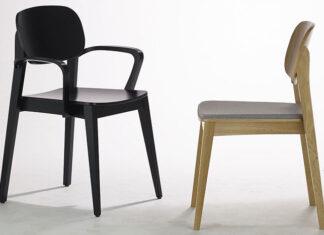 Krzesła nowoczesne drewniane