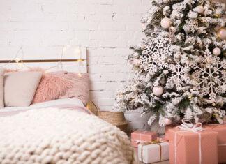 Poczuj magię świąt w sypialni